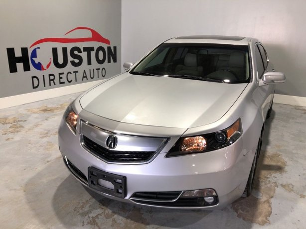 Used 2012 Acura TL for sale in Houston TX.  We Finance!