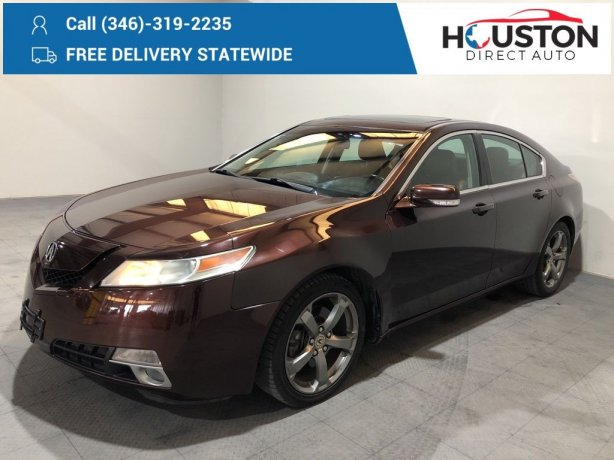 Used 2010 Acura TL for sale in Houston TX.  We Finance!