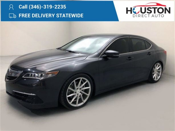 Used 2015 Acura TLX for sale in Houston TX.  We Finance!