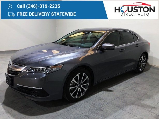 Used 2017 Acura TLX for sale in Houston TX.  We Finance!