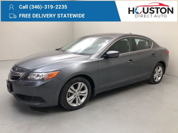 Used 2013 Acura ILX for sale in Houston TX.  We Finance!