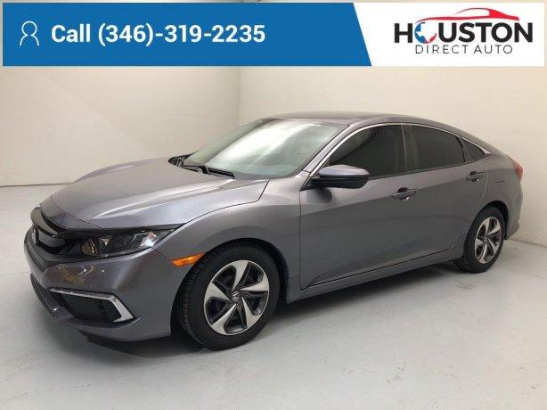 Used 2019 Honda Civic for sale in Houston TX.  We Finance!