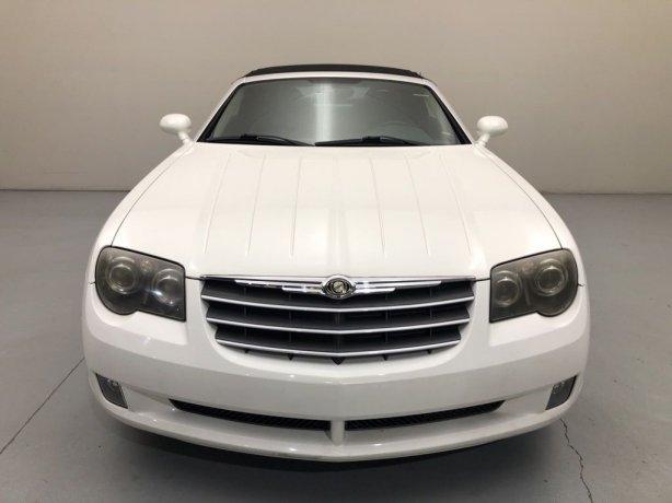 Used Chrysler Crossfire for sale in Houston TX.  We Finance!