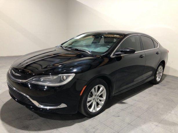 Used 2015 Chrysler 200 for sale in Houston TX.  We Finance!