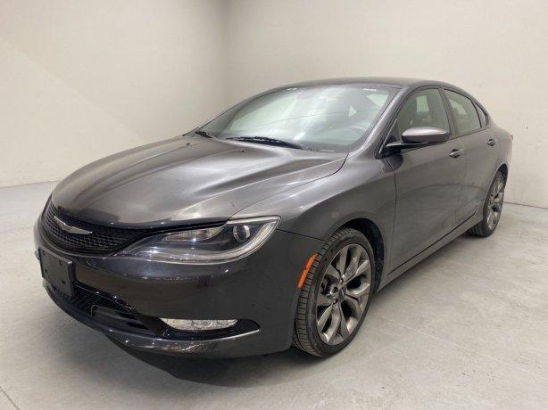 Used 2016 Chrysler 200 for sale in Houston TX.  We Finance!