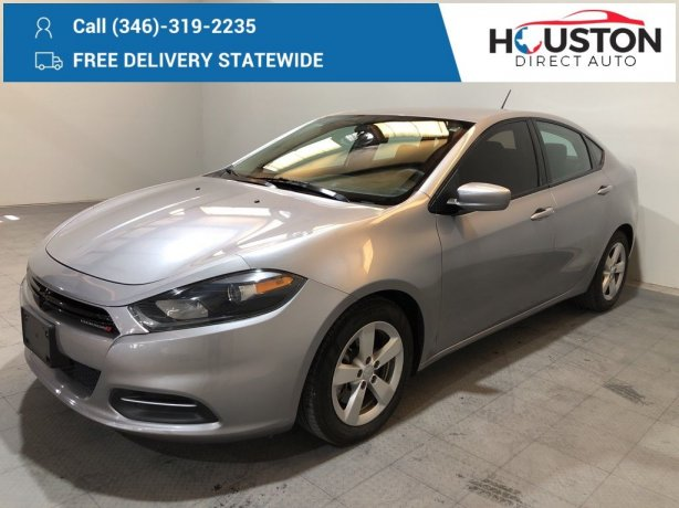 Used 2016 Dodge Dart for sale in Houston TX.  We Finance!