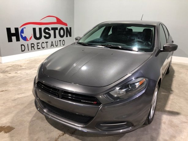 Used 2015 Dodge Dart for sale in Houston TX.  We Finance!