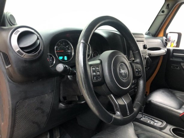 used 2013 Jeep Wrangler for sale Houston TX
