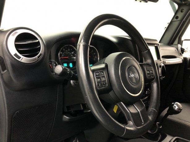 used 2016 Jeep Wrangler for sale Houston TX