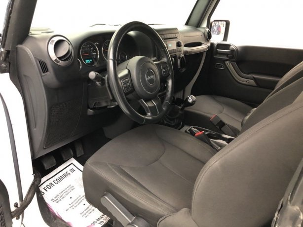 used 2017 Jeep Wrangler for sale Houston TX