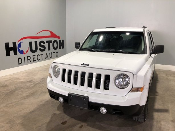 Used 2016 Jeep Patriot for sale in Houston TX.  We Finance!