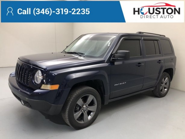 Used 2015 Jeep Patriot for sale in Houston TX.  We Finance!