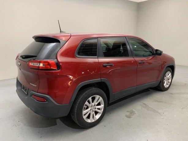 used Jeep Cherokee