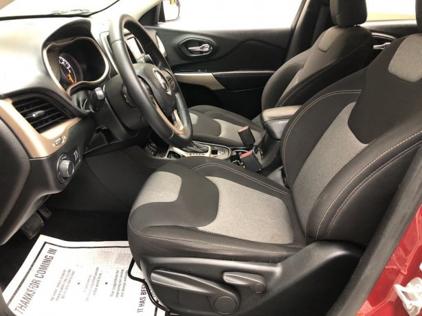 used 2017 Jeep Cherokee for sale Houston TX