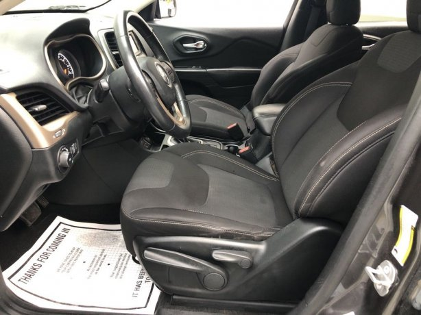 used 2015 Jeep Cherokee for sale Houston TX