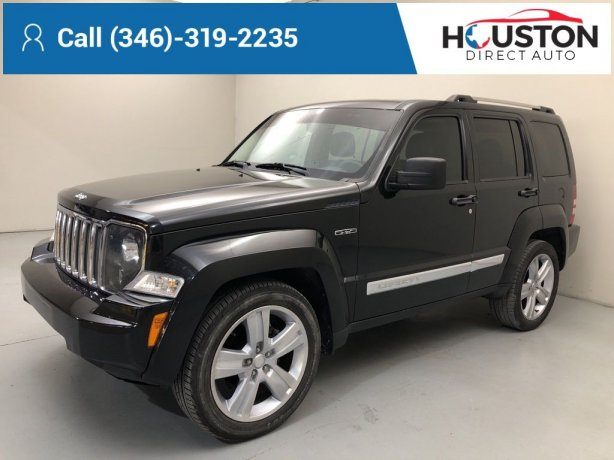 Used 2012 Jeep Liberty for sale in Houston TX.  We Finance!