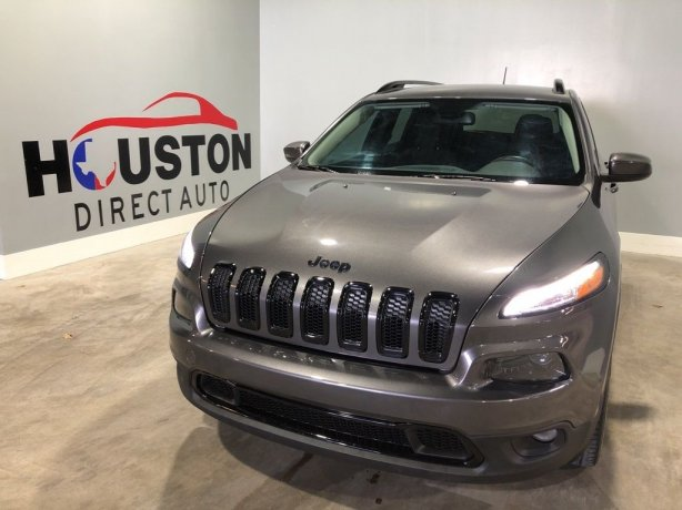 Used 2016 Jeep Cherokee for sale in Houston TX.  We Finance!
