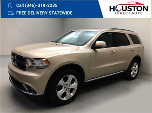 Used 2015 Dodge Durango for sale in Houston TX.  We Finance!