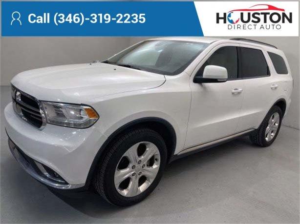 Used 2014 Dodge Durango for sale in Houston TX.  We Finance!