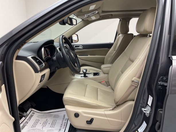 used 2015 Jeep Grand Cherokee for sale Houston TX
