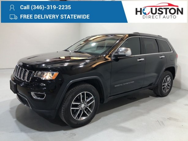 Used 2018 Jeep Grand Cherokee for sale in Houston TX.  We Finance!