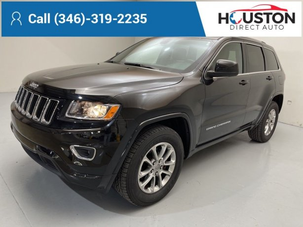 Used 2016 Jeep Grand Cherokee for sale in Houston TX.  We Finance!