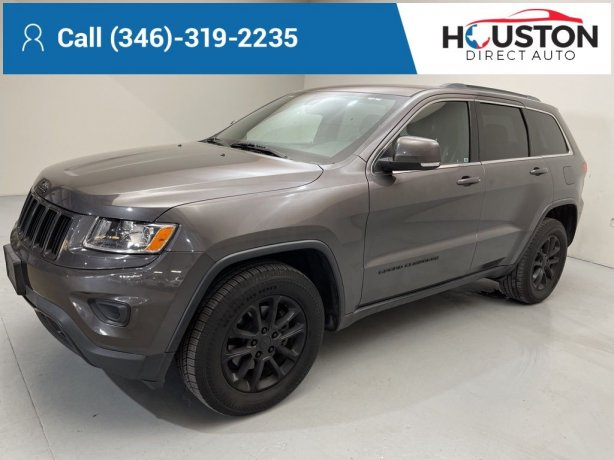 Used 2015 Jeep Grand Cherokee for sale in Houston TX.  We Finance!