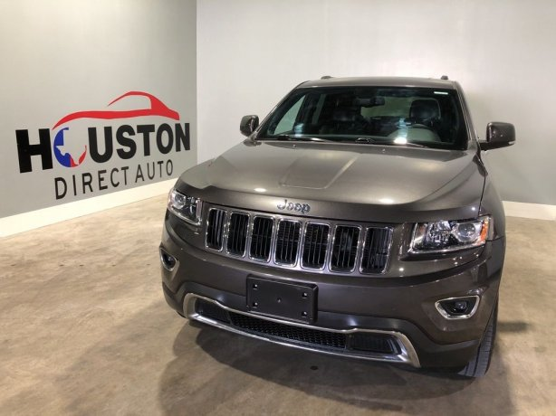 Used 2014 Jeep Grand Cherokee for sale in Houston TX.  We Finance!