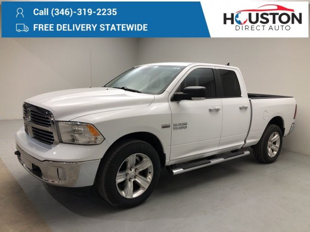 Used 2014 Ram 1500 for sale in Houston TX.  We Finance!