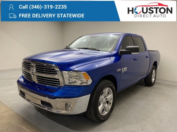 Used 2019 Ram 1500 Classic for sale in Houston TX.  We Finance!