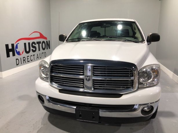 Used 2007 Dodge Ram 1500 for sale in Houston TX.  We Finance!