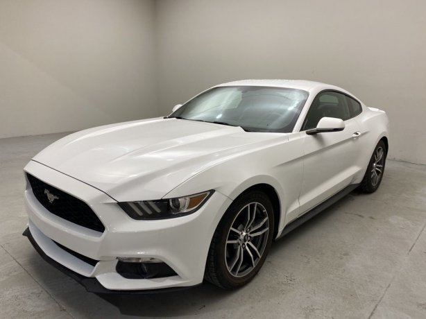Used 2017 Ford Mustang for sale in Houston TX.  We Finance!