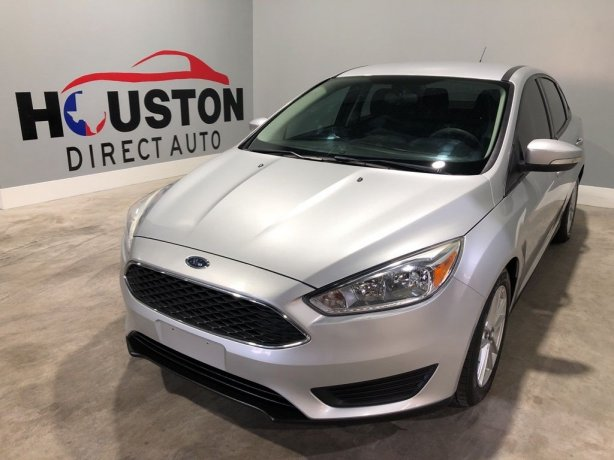 Used 2016 Ford Focus for sale in Houston TX.  We Finance!