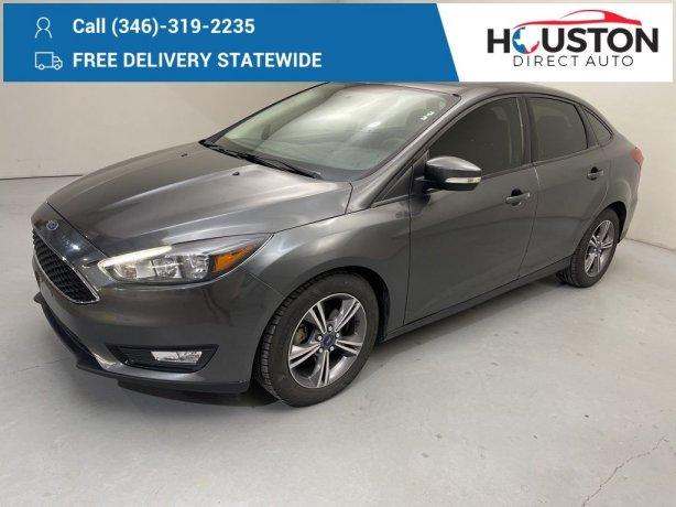 Used 2017 Ford Focus for sale in Houston TX.  We Finance!