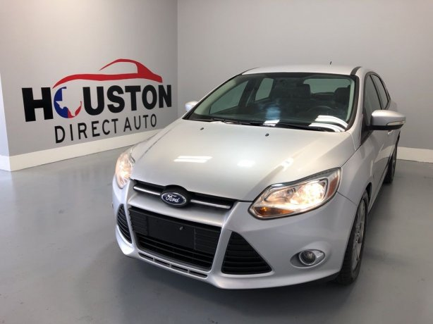 Used 2013 Ford Focus for sale in Houston TX.  We Finance!