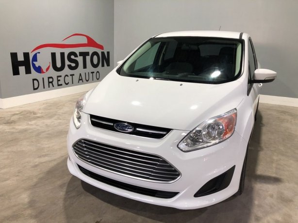Used 2016 Ford C-Max Hybrid for sale in Houston TX.  We Finance!
