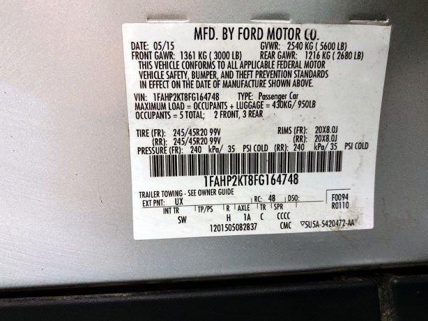 Ford Taurus 2015 near me
