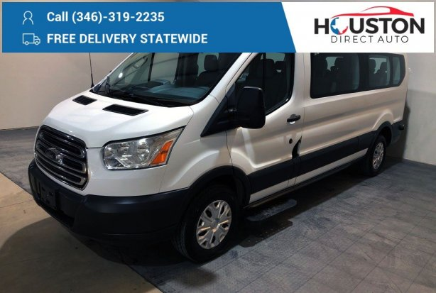 Used 2016 Ford Transit-350 for sale in Houston TX.  We Finance!
