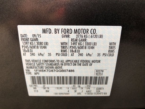 Ford Explorer 2016 near me