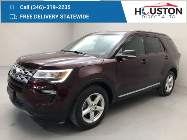 Used 2019 Ford Explorer for sale in Houston TX.  We Finance!