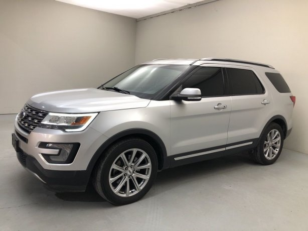 Used 2017 Ford Explorer for sale in Houston TX.  We Finance!