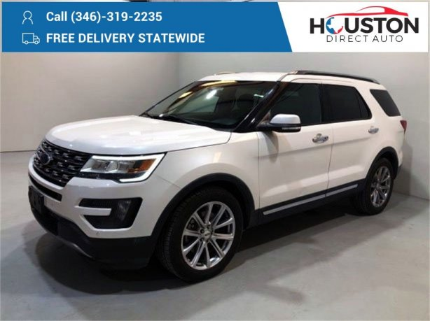 Used 2016 Ford Explorer for sale in Houston TX.  We Finance!