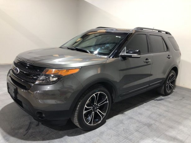 Used 2015 Ford Explorer for sale in Houston TX.  We Finance!