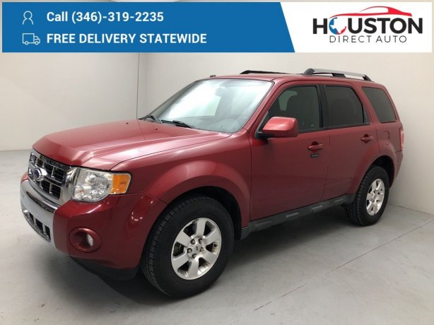 Used 2011 Ford Escape for sale in Houston TX.  We Finance!