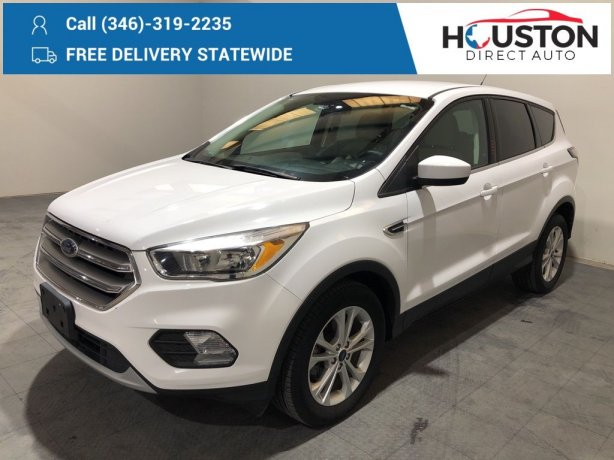Used 2017 Ford Escape for sale in Houston TX.  We Finance!