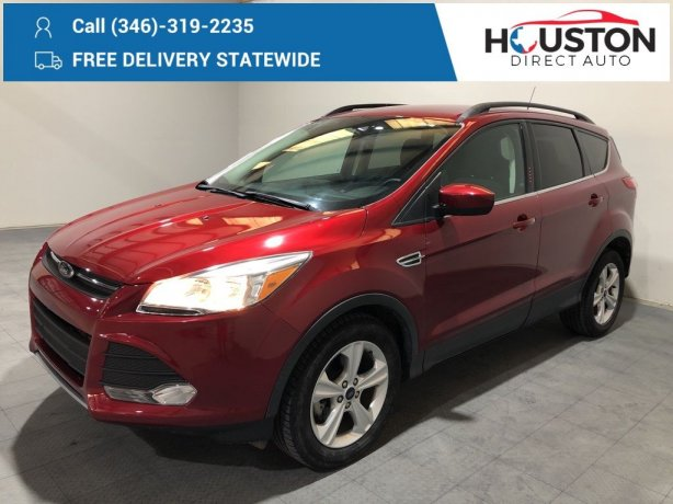 Used 2015 Ford Escape for sale in Houston TX.  We Finance!