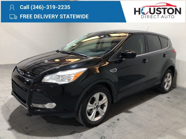 Used 2016 Ford Escape for sale in Houston TX.  We Finance!