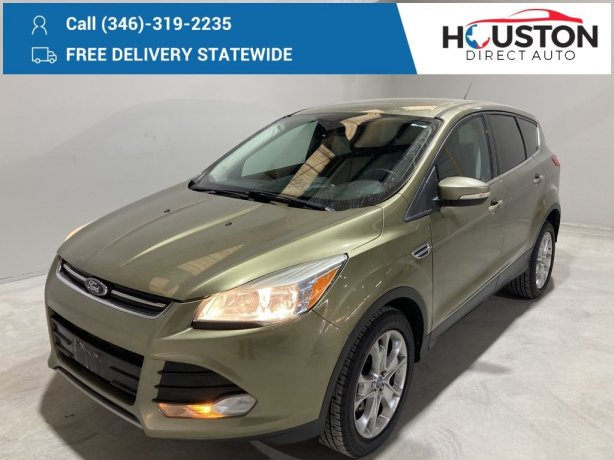 Used 2013 Ford Escape for sale in Houston TX.  We Finance!