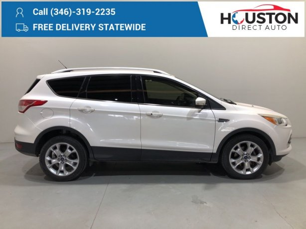 Used 2014 Ford Escape for sale in Houston TX.  We Finance!