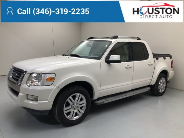 Used 2010 Ford Explorer Sport Trac for sale in Houston TX.  We Finance!